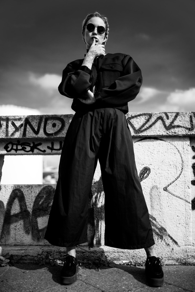 Photographer: Nicola Rehbein // Model: Marla Singer X // Clothing: The Ragged Priest, UNIF & Nike