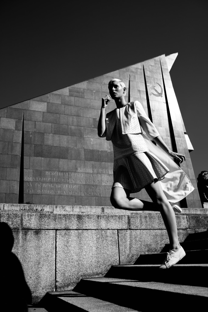 Photographer: Nicola Rehbein // Model: Lisa Sophie Bärmann // Store: Level Eight Berlin // Clothing: Berlina Pflanze